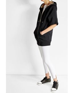 Short Sleeved Cotton Hoody