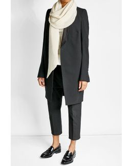 Cashmere Scarf With Silk