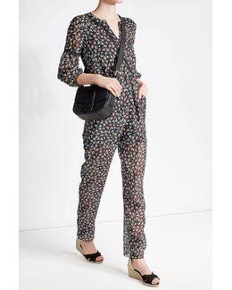 Printed Silk Chiffon Jumpsuit