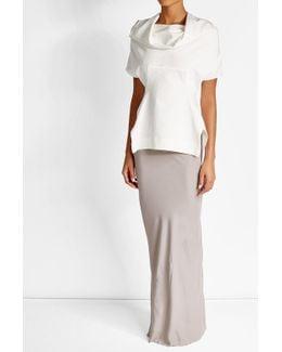 Maxi Skirt With Silk