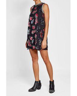 Dress With Velvet