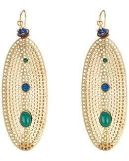 Chiara 24k Gold Plated Earrings
