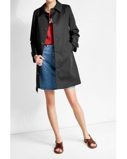 Cotton Mac Coat
