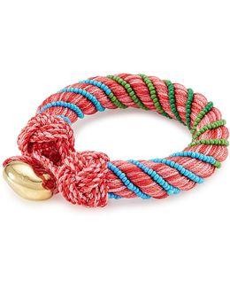 Bracelet With Glass Beads