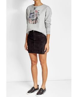 Printed Sweatshirt With Cotton