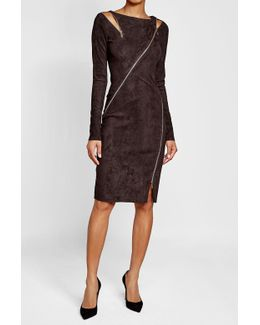 Zipi Suede Dress