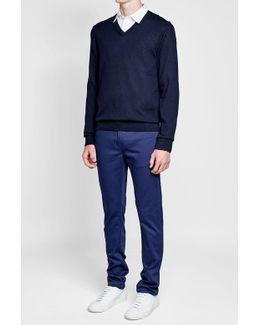 Randolf Cotton-cashmere Blend Pullover
