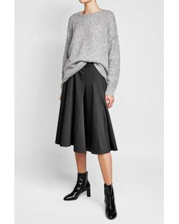 Circle Skirt With Wool