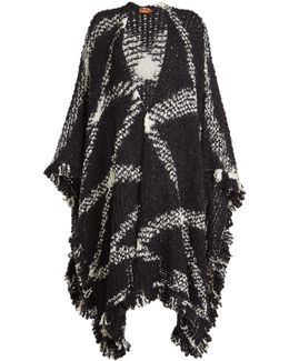 Cape With Wool And Mohair