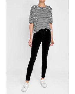 Skinny Velvet Pants
