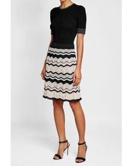 Crochet Midi Skirt With Cotton