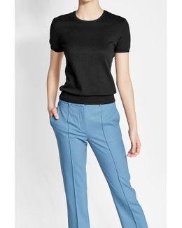 Short Sleeved Cotton Pullover