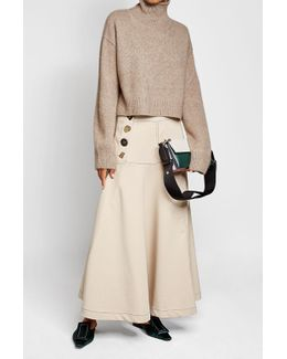 Skirt With Cotton