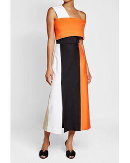 Split Panel Skirt