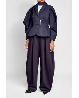 Structured Jacket With Wool