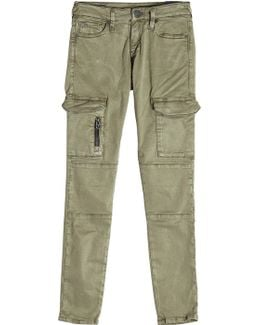 Cargo Pants With Cotton