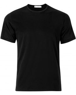 Men's Superfine Cotton T-shirt In Black