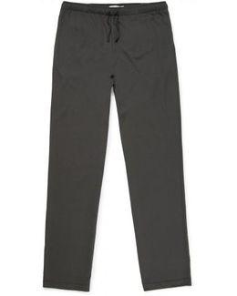 Men's Cotton Modal Lounge Pant In Charcoal