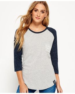 Athletic League Raglan Top
