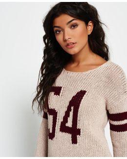 Pia Varsity Knit Jumper