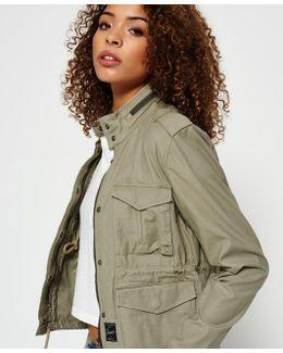 Mono Utility Cropped Jacket