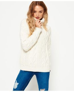 Esmay Cable Knit Jumper