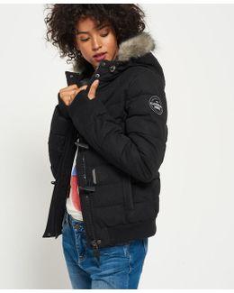 Microfibre Toggle Puffle Jacket