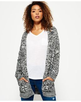 Marie Twist Cable Cardigan