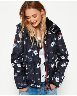 Printed Hooded Arctic Windcheater Jacket