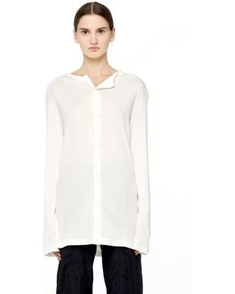 Cotton And Rayon Long Sleeve T-shirt