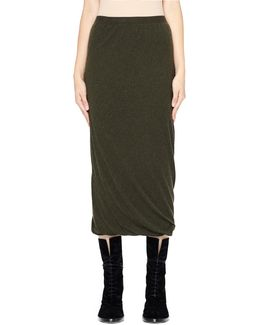 Double Layer Wool Skirt