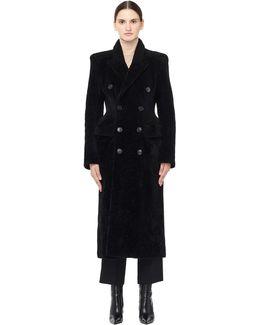 Shearling Hourglass Coat