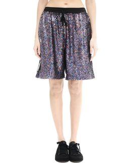 Silk Sequin Shorts