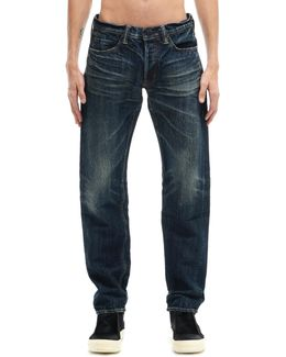 Cotton And Japanese Paper Jeans
