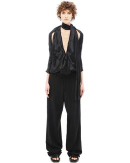 Wool And Rayon Jumpsuit