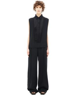 Acetate And Polyamid Jumpsuit