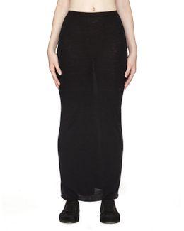 Angora And Rayon Skirt