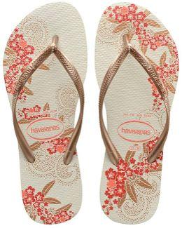 Slim Organic Sandal