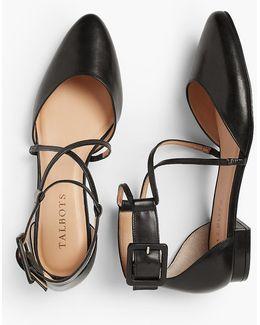 Edison D'orsay Flat - Napa Leather