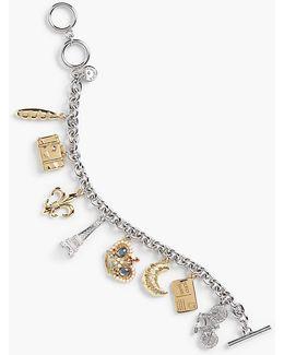 Love From Paris Charm Bracelet