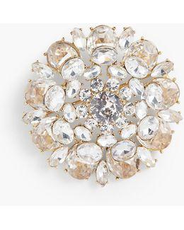 Sparkling Crystal Pin
