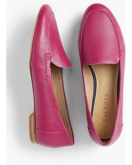 Ryan Pebbled Leather Loafers