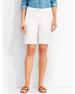 "9"" Twill Short-fashion Colors"