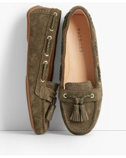 Everson Driving Moccasins - Suede