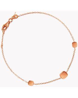 14k Rose Gold Belgravia Cushion Bracelet