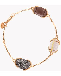 18k Rose Gold Mayfair Bracelet With Quartz