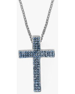 Precious Cross Micro Pavé Necklace