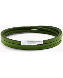 Triple Wrap Fettuccine Bracelet