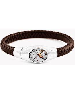 Basel Skeleton Silver Bracelet