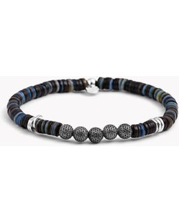 Seychelles Mesh Silver Bracelet